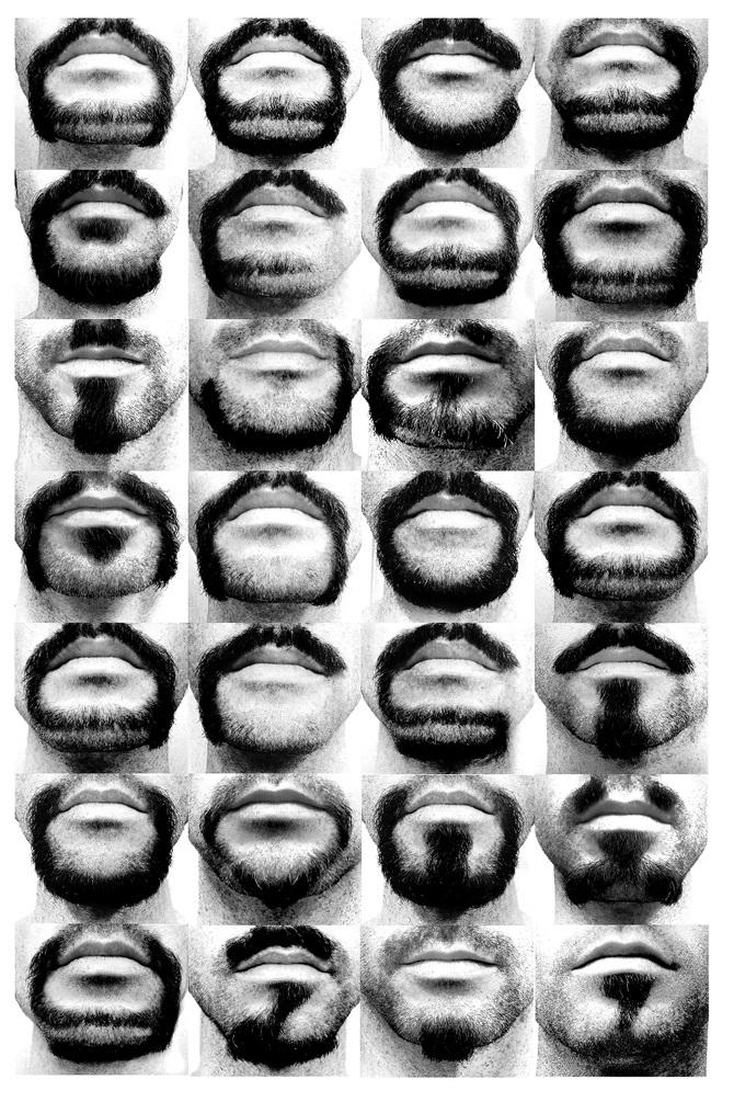 Alphabeard Beardface by Michael Allen