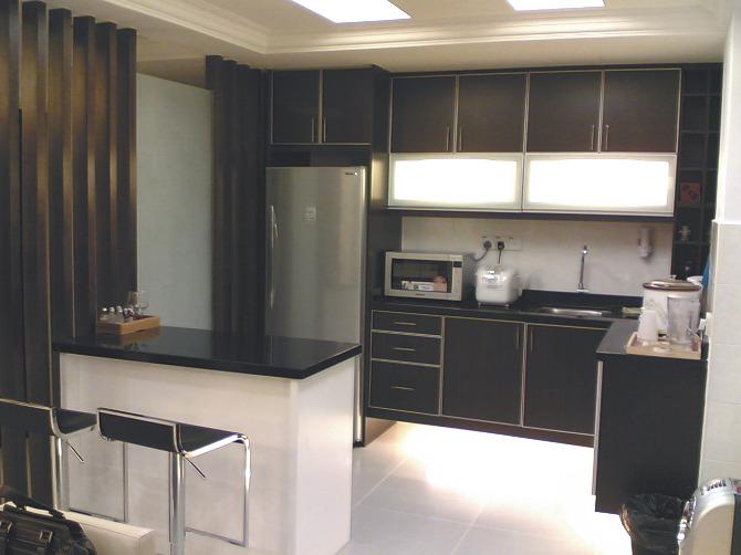 Кухня прямоугольной формы дизайн
